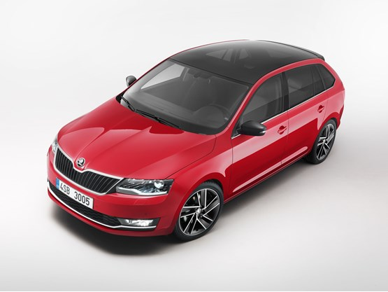 Skoda Rapid Spaceback 2017