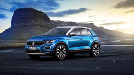 Sales of SUVs like the Volkswagen T-Roc are still on the rise in Europe