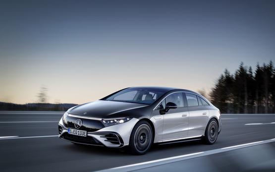 Mercedes-Benz EQS electric vehicle (EV)