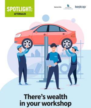 AM Aftersales spotlight 2021 cover