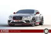 JCT600 70th anniversary Bentley Continental