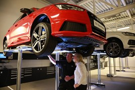 Audi franchise workshop