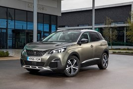 Top performer: Peugeot's 3008 SUV gained market share in November
