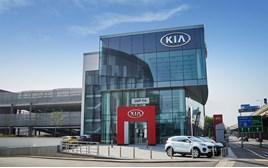 Norton Way GWR Kia London entrance 2016