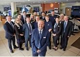 Ray Barlow plus the team at Bristol Street Motors Chesterfield Peugeot 2016