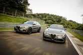 Alfa Romeo's limited edition Giulia and Stelvio Quadrifoglio NRING Nürburgring Limited Edition models