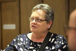 Chorley Group managing director, Pauline Turner
