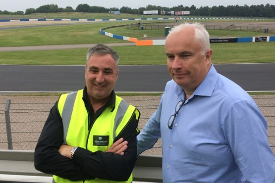 Aston Barclay CEO Neil Hodson (left) and non-executive chairman Lawrence Vaughan