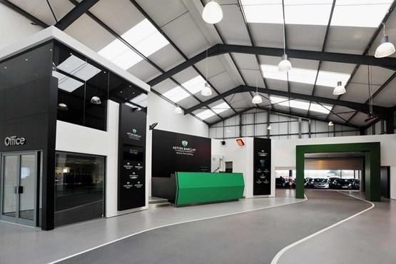 Aston Barclay's Westbury site