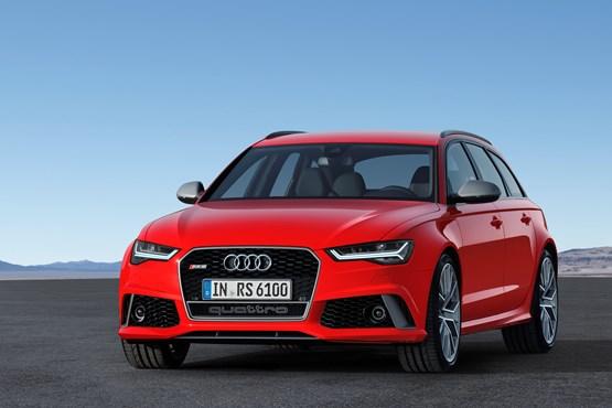 2015 Audi RS 6 Avant front view