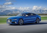 Audi RS 7 Sportback 2015 side view