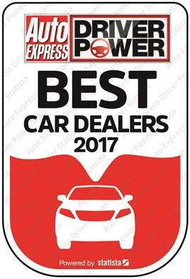 Driver Power Best Car Dealers 2017 logo