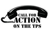 Call For Action On The TPS logo
