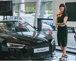 Cardiff Audi RS4 launch