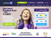 CarFinance 247 homepage