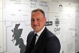 Former CarShop chief executive, Jonathan Dunkley