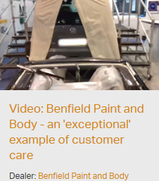 CitNOW video best practice: Benfield Paint and Body