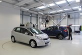 Aftersales facility at Cox Motor Group Southport Honda