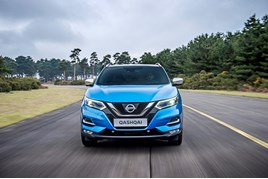 Face-lifted Nissan Qashqai enjoyed European sales success