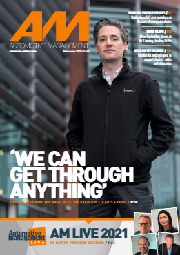 The cover of the November 2021 Issue of AM magazine