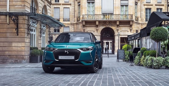 DS 3 Crossback 2018 front