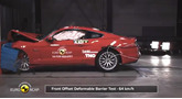 Ford Mustang Euro NCAP crash test 2017