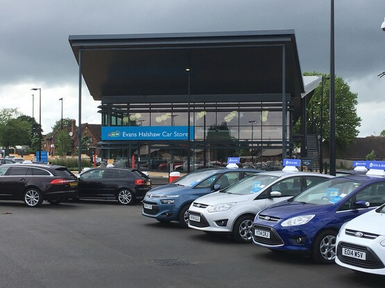 Set for rebrand: Evans Halshaw Car Store division