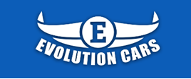 Evolution Cars Cardiff and Caerphilly logo