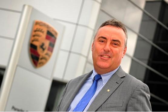 Porsche Retail Group director Ade Smith