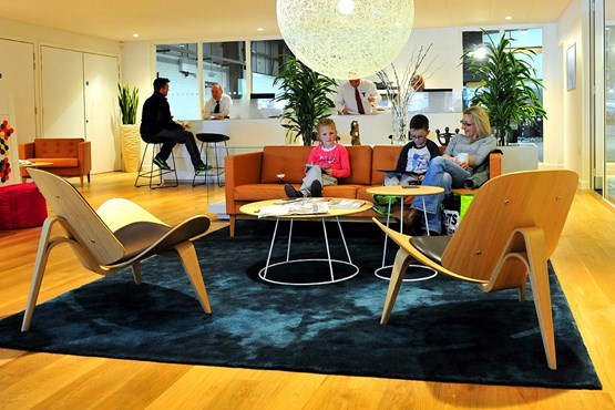 Volvo Retail Experience programme 'living room'