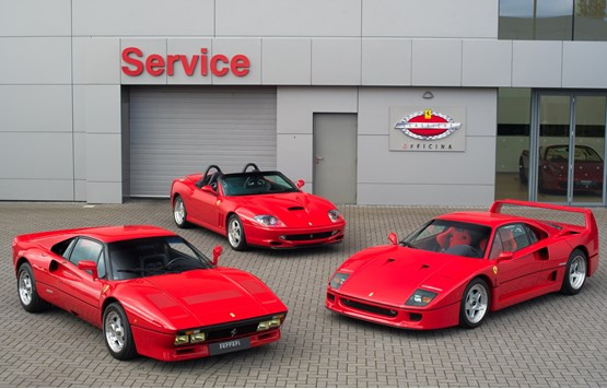 Ferrari Classiche Authorised Workshops 2017