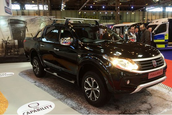 The new Fiat Fullback pick-up