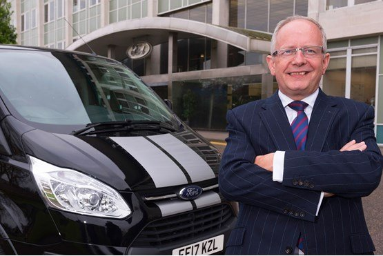 Former Ford of Britain managing director Andy Barratt