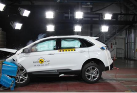 Ford Edge crash test 2016