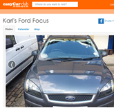 Ford Credit easyCar car share 2015