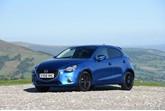 Mazda2 Black+ Edition in blue