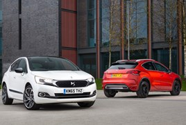 DS 4 and DS 4 Crossback (2016)