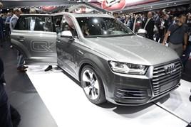 Audi Q7 e-tron Quattro Frankfurt2015