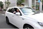 Mitsubishi Outlander PHEV facelift and Boris Johnson