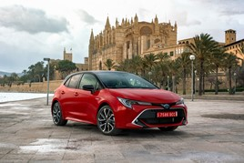 European market share winner: Toyota's newly-launched Corolla