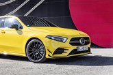 A yellow Mercedes-AMG A 35 4MATIC (2018)