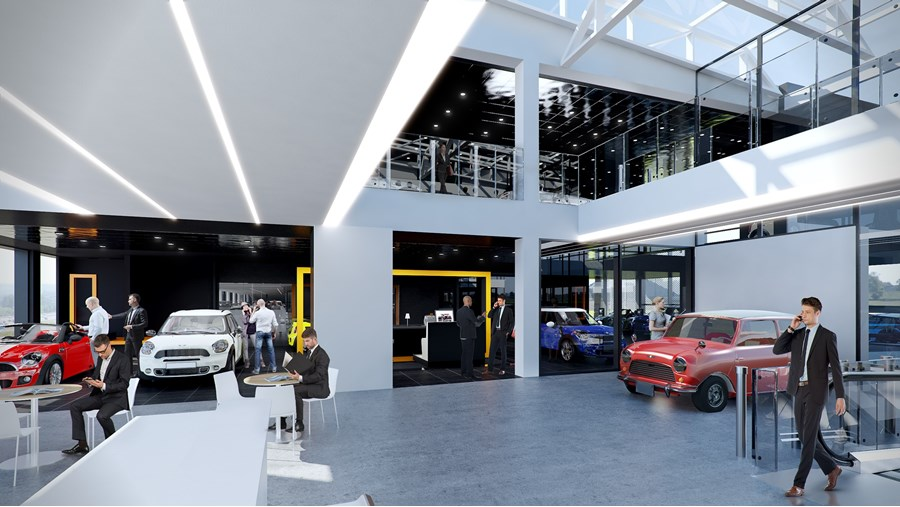 Cotswold Bmw Cheltenham >> Cotswold Motor Group: visuals for planned Mini and BMW dealerships in Cheltenham (2015 ...