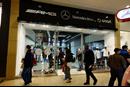 Mercedes-Benz Retail's pop-up store in Birmingham's Bullring shopping centre