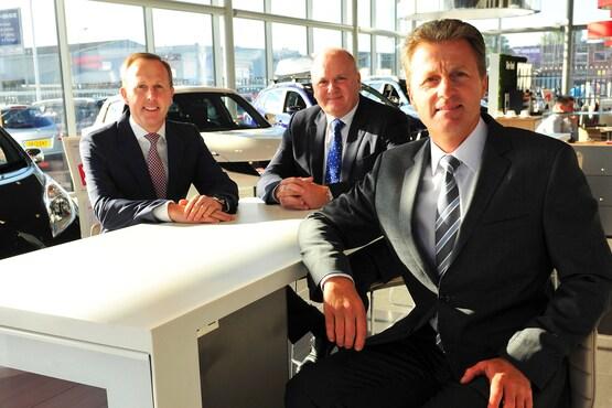 Motorline Group's senior leadership team, Glenn, Gary and Thomas Obee