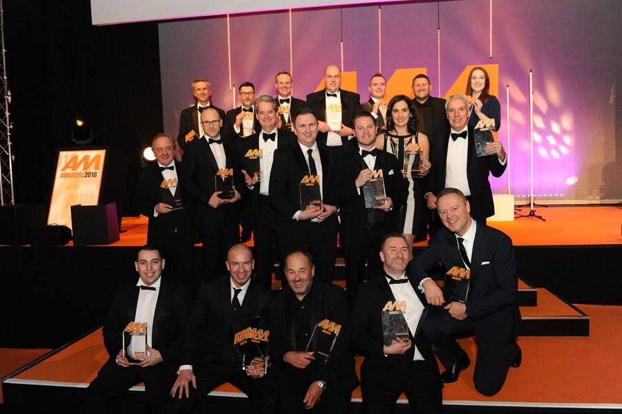 AM Awards 2018 winners