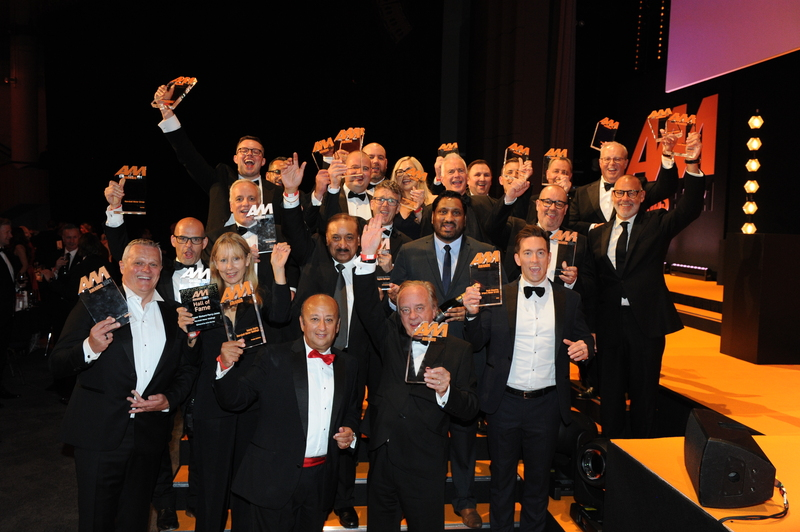 The winners at the 2021 AM Awards held at the ICC Birmingham