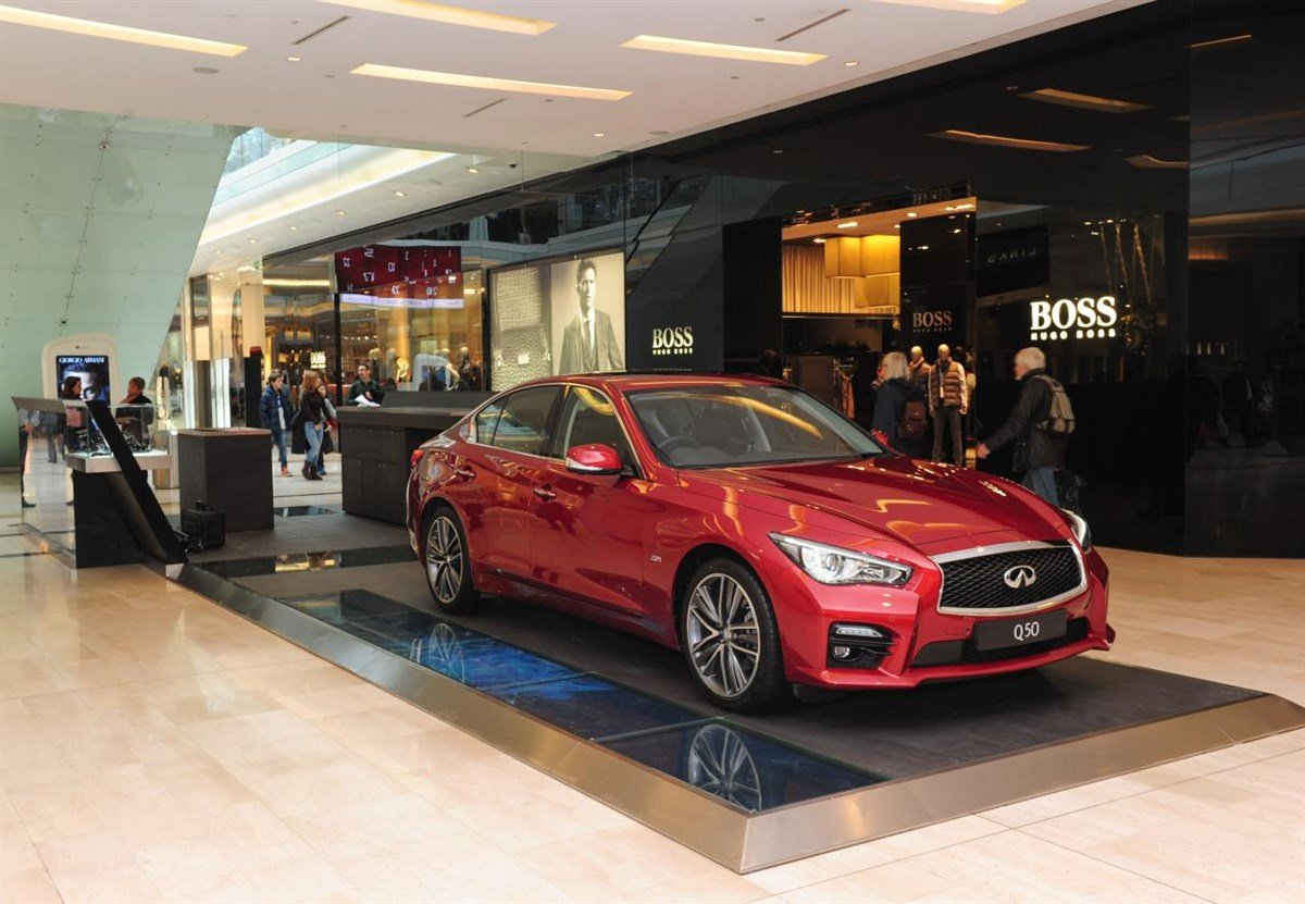 Infiniti Store At Westfield Shopping Centre Pictures