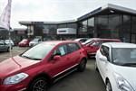 Norfolk Motor Group Suzuki forecourt