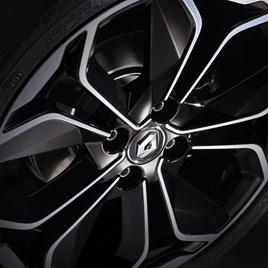 Renault wheel alloy