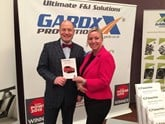 Paul-williams-md-of-ssangyong-and-amanda-massey-head-of-sales-for-gardx